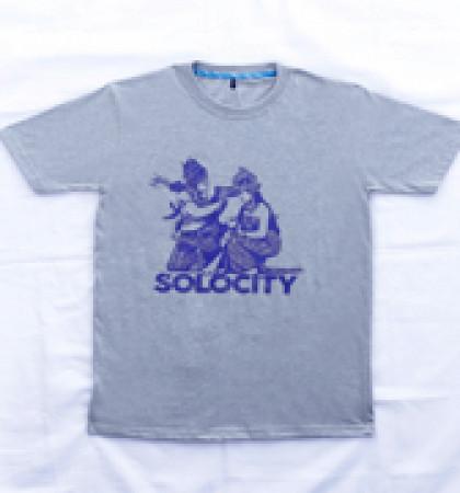 Kaos DIS-36-SOLOCITY Putih