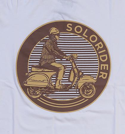 Kaos DIS-17-Solorider Putih